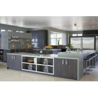 Best U Shape With Wood Veneer Stainless Steel Kitchen Export To Cambodia For Restaurant wholesale