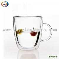 Quality Double wall cup with handle for sale