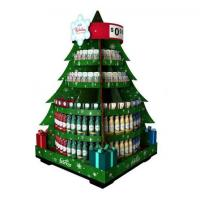 Quality Drinking / Fruit Jelly Tree Wooden Display Racks Free Standing for sale