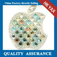 Quality Pretty Shiny hotfix rhinestone patches,crystal rhinestone patches and appliques for sale