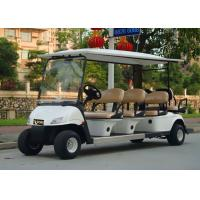 Buy cheap Popular Outdoor 6 Seater Golf Cart With Aluminum Rim , 48V Battery Voltag from wholesalers