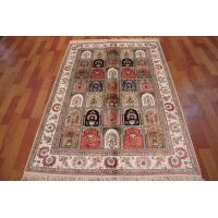 China Best buy persian types handmade silk rug on sale