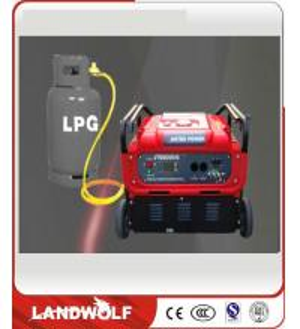 China Fuel Cell Engine Generator Controller LPG Gas Digital Inverter Generator Sets on sale