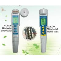 Quality Portable Mini Detection TDS Water Tester PH Water Meter 3 In 1 0.01PH DC 6V for sale