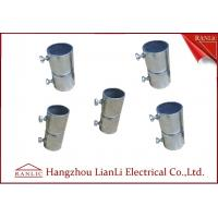 Quality Electro Galvanized Gi Conduit Pipe Screwless Coupler Electrical Conduits And Fittings for sale