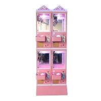 Quality Anti Shaking Metal Cabinet 4 Player Toy Catcher Machine for sale