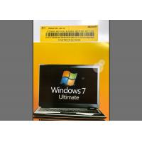 Quality Genuine Windows 7 Home Premium SP1 , Windows 7 Activation Key For 32/64 Bit Digital Code for sale