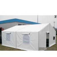 Quality 6m Width White Military Army Tent Waterproof Pvc Cover With Screen Windows for sale