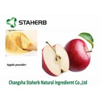 Quality Dried Organic Apple Extract Powder Contain Polyphenols / Phloretin Lower Cancer Risk for sale