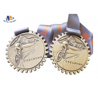China 3D Effect Antique Finishing 70mm Stock Medals for sale