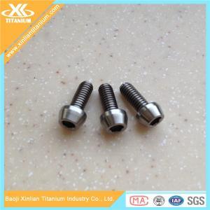 titanium hex socket taper head screws