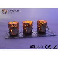 China Eco Friendly Copper Votive Candle Holders With Tealight Heat Resistant on sale