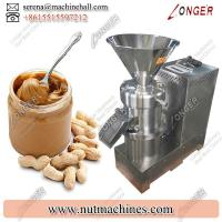 Quality Commercial Peanut Grinder Machine / Groundnut Butter Making Machine 200 mesh for sale