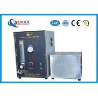Buy Micro Controlled Flame Test Equipment 820*820*1500 MM With Observation Window at wholesale prices