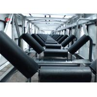 Quality Light Industry Conveyor Belt Roller Idler Carrying Troughing GB Standard for sale