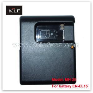 Quality Digital camera charger MH-25 for Nikon camera battery EN-EL15 for sale