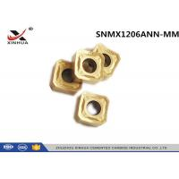 Buy cheap Milling Machine Tools Carbide Milling Inserts SNMX1206ANN Cast Iron Cutting from wholesalers