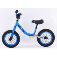 "Quality 12"" 14"" High Carbon Steel Children Balance Bike  Baby Push Bike With Leather Saddle for sale"
