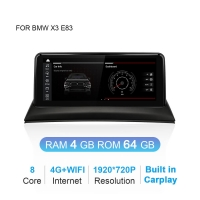 Quality 2.0GHZ Bmw X3 Navigation DDVD Android 10.0 8 Core Resolution 1920X720P for sale