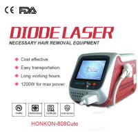 Quality Professional Painless 808nm Diode Laser Hair Removal Machine For Beauty Salon for sale