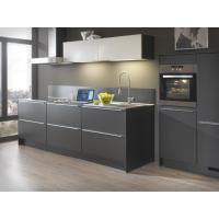 Best 1-Shape Grey Stainless Steel Kitchen Cabinet With Double Sink With Pull-out Handles wholesale