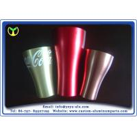 China Recycle Anodized Aluminum Extrusions 6000 Grade Alloy Cup For Coca Cola on sale