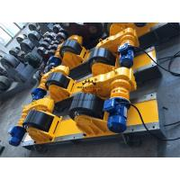 Quality 40 Ton Bolt Shift Adjustment Convnetional Welding Rotator Inverter Control for sale