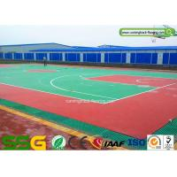 Quality Basketball Silicon PU Sports Flooring Fadeless Surface Waterproof for sale