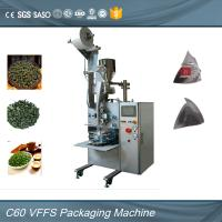 Quality Full Automatic SS Envelope Packing Machine For Organic White Tea Bag 0.6mpa for sale