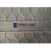 Quality Hot Dipped Galvanized Flexible Gabion Wall Baskets Reno Mattress For Stream Bed Drain for sale