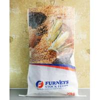 Quality Transparent BOPP PP Woven Feed Bags , Laminated Woven Polypropylene Bags for sale