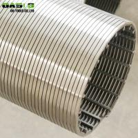 Quality 6 5 / 8inch SS304 Wire Wrapped Screen Welded Mesh 0.5mm - 3.00mm Wire Diameter for sale