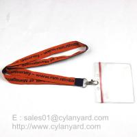 Best Custom made woven lanyards, low cost woven neck ribbons factory from China wholesale