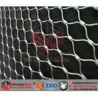 Quality China Stainless Steel Wire Rope Mesh/Wire Cable Net for sale