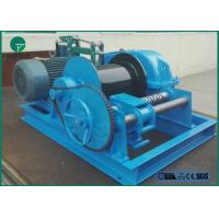 Quality 220m Steel Cable High Building 5 Ton JK Electric Winch Single or Double Drum for sale