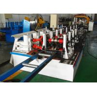 Quality Box Rack Roll Forming Machine Gear Box Driven Type With Seaming Lock Machine for sale