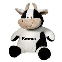 Quality White and Black Milka Cow Plush Toys for sale
