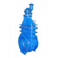 Quality Cast Iron Non Rising Stem DN800 Metal Seated Gate Valve for sale