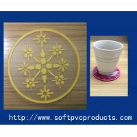 Quality Home Fashion Rubber / Silicone / Soft PVC Custom Drink Coasters for Promotion Gifts for sale
