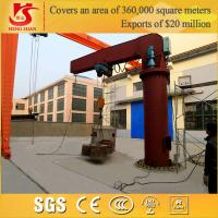 Quality Light Duty Mounted Column Slewing 0.5ton jib crane for sale
