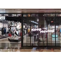 Quality Shervin P7.81 1000x500mm LED Glass Curtain Wall for sale