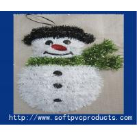Quality Fashion Snowman Christmas Magnets Plastic Christmas Gifts for Promotional Products for sale