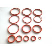 Quality AS568 standard rubber silicone colored high pressure and heat resistant o ring for sale