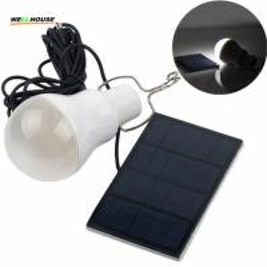 China Hot 15w Solar Lamp Powered Portable Led Bulb Lamp Solar Energy Lamp led Lighting Solar Panel Camping light on sale