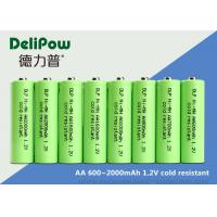 China AA Series Low Temperature Rechargeable Batteries 600 / 700 / 900 / 1000 / 1600 / 2000mAh on sale