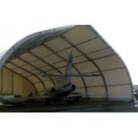Quality Curve Airplane Tent , Aluminum Structure Tent With Automatic Or Manual Lifting Door for sale