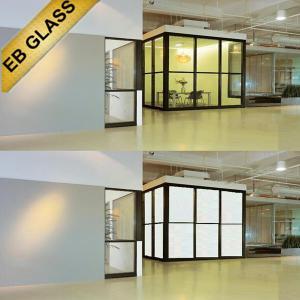 Best smart glass, pdlc glass office partition, intelligent glass/eb glass brand wholesale