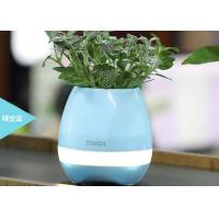 Best Bluetooth Speaker with LED BT Intelligent Smart Touch Music Flowerpot Plant Piano Playing K3 Wireless Singing Flowerpot wholesale