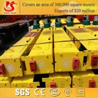 Quality 10ton Double girder overhead crane end carriage for sale