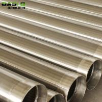 Quality Deep Well Drilling Heavy Duty Stainless Steel Screen for sale